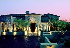 cusom outdoor landscape lighting